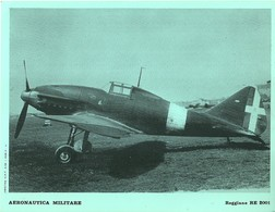 "4520""AERONAUTICA MILITARE-REGGIANE RE 2001 - CENTRO C.F.T.  A.M."" ORIGINALE - Aviazione"