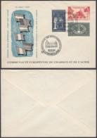 Luxembourg 1956 - FDC-Premier Jour émission  Nr. 511-513   ......(EB) DC-3781 - Ansichtskarten