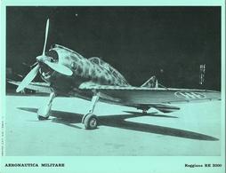 "4522""AERONAUTICA MILITARE-REGGIANE RE 2000 - CENTRO C.F.T.  A.M."" ORIGINALE - Aviazione"