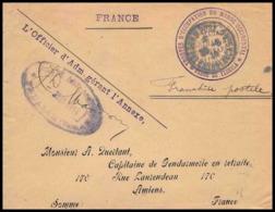 2425 Fedalah Annexe Du Magasin Central De Subsistance Militaire 24/6/1914 Lettre Cover France Guerre Maroc War - Marcophilie (Lettres)