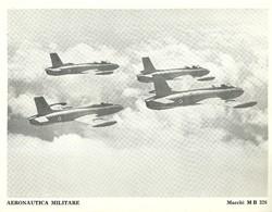 "4524""AERONAUTICA MILITARE-MACCHI MB 326 "" ORIGINALE - Aviazione"