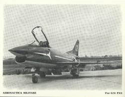 "4525""AERONAUTICA MILITARE-FIAT G 91 PAN "" ORIGINALE - Aviazione"
