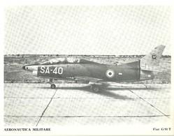 "4527""AERONAUTICA MILITARE-FIAT G 91 T "" ORIGINALE - Aviazione"