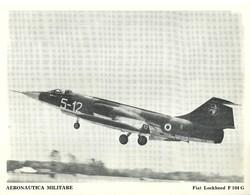 "4528""AERONAUTICA MILITARE-FIAT LOCKHEED F 104 G "" ORIGINALE - Aviazione"