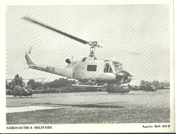 "4532""AERONAUTICA MILITARE-AGUSTA BELL 204 B "" ORIGINALE - Aviazione"