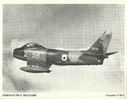 "4534""AERONAUTICA MILITARE-CANADAIR F 86 E "" ORIGINALE - Aviazione"