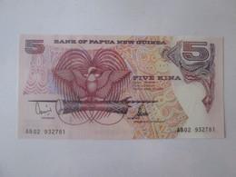 Papua New Guinea 5 Kina 2002 Banknote UNC - Papua New Guinea