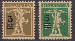 HELVETIA - SUISSE - SVIZZERA - 1930 - Serie Completa Composta Da Due Valori Nuovi MNH: Yvert 239 E 240. - Nuovi
