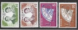 Japan,  Scott 2019 # C667-670,  Issued 1959,  Set Of 4,  MNH,  Cat $ 4.10 - 1926-89 Emperor Hirohito (Showa Era)