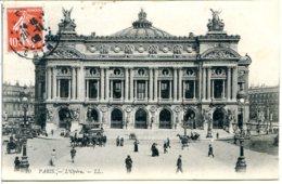 75009 L'Opéra - Fiacre à Impériale Petit Plan - Postée En 1908 - Arrondissement: 09