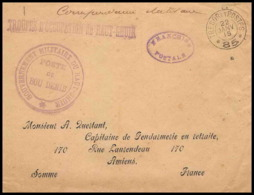 2668 1914/1918 Maroc Haut Guir Bou Denib 22/1/1915 Secteur 85 Lettre Cover France Guerre Maroc War - Marcofilia (sobres)
