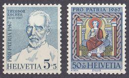 HELVETIA - SUISSE - SVIZZERA - 1967 - Lotto Di 2 Valori Nuovi MNH: Yvert 786 E 790. - Nuovi