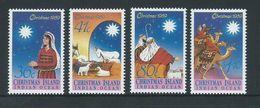 Christmas Island 1989 Xmas Set 4 MNH - Christmas Island