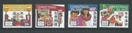 Christmas Island 1989 Chinese New Year Set 4 MNH - Christmas Island