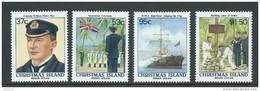Christmas Island 1988 Annexation Anniversary Set 4 MNH - Christmas Island