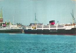 """4550 """" FRA AARHUS HAVN,HANS BROGE """"PIROSCAFI-CART. POST.ORIG. SPED 1962 - Danimarca"""