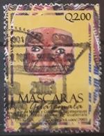 GUATEMALA 2003 Masks. USADO - USED. - Guatemala