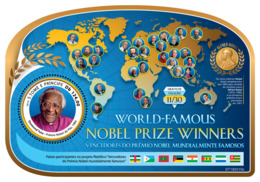 Sao Tome 2019 World-famous Nobel Prize Winners (Desmond Tutu, Nobel Peace Prize) S201903 - Sao Tome And Principe