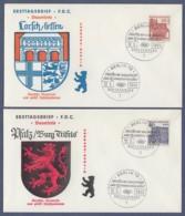 Berlin FDC 1965 - MiNr. 244-245 - Deutsche Bauwerke Aus Zwölf Jahrhunderten I (G) - Berlin (West)