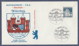 Berlin FDC 1966 - MiNr. 282 - Deutsche Bauwerke Aus Zwölf Jahrhunderten II (G) - [5] Berlín