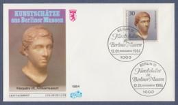 Berlin FDC 1984 - MiNr. 708 - Kunstschätze In Berliner Museen (G) - Berlin (West)