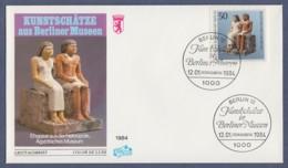 Berlin FDC 1984 - MiNr. 709 - Kunstschätze In Berliner Museen (G) - Berlin (West)