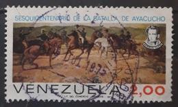 VENEZUELA 1974 The 150th Anniversary Of Battle Of Ayacucho. USADO - USED. - Venezuela