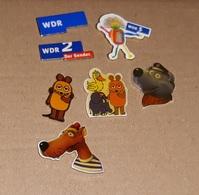 Lot De 7 Pin's Média Allemagne / TV WDR - Medias