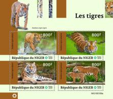 NIger  2019 Fauna  Tigers  S201903 - Niger (1960-...)