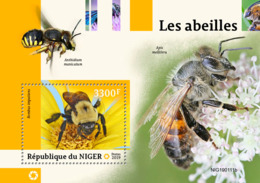 NIger   2019 Fauna  Bees   S201903 - Niger (1960-...)