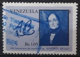 VENEZUELA 1982 The 100th Anniversary Of The Birth Of Andres Bello, 1781-1865. USADO - USED. - Venezuela