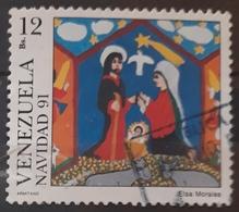 VENEZUELA 1991 Christmas. USADO - USED. - Venezuela
