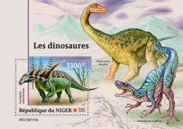 NIger   2019  Dinosaurs  S201903 - Niger (1960-...)