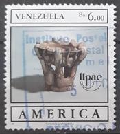 VENEZUELA 1989 America - Pre-Columbian Artefacts. USADO - USED. - Venezuela