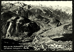 Blick Von Der Wormserhütte  -  Auf Schruns Tschagguns  -  Ansichtskarte Ca.1968    (10526) - Schruns