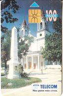 ARGENTINA - Formosa/Catedral De Formosa, Telecom Argentina Telecard, 07/96, Used - Landscapes