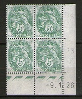 N° 111**_9/1/26_cote 30.00_type II - Coins Datés