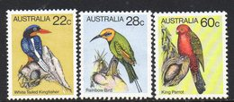 AUSTRALIA, 1980 BIRDS 3 MNH - Ongebruikt