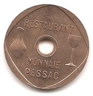 Jeton Restaurant De La Monnaie De Paris à Pessac : Boissons - Notgeld