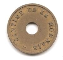 Jeton Cantine De La Monnaie De Paris à Paris : Boissons - Notgeld