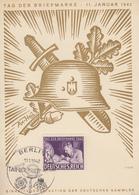 Carte  Postale   ALLEMAGNE   Journée  Du   Timbre   BERLIN   1942 - Deutschland