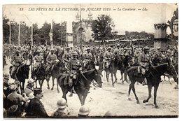 CPA     LES FETES DE LA VICTOIRE  14 JUILLET 1919      LA CAVALERIE - Guerre 1914-18