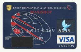 Romania, Banca Transilvania,(Transilvanian Bank), Maxishop, Expiration Date: 2009 . - Cartes De Crédit (expiration Min. 10 Ans)