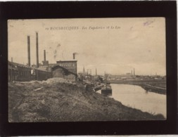 59 Bousbecques Les Papeteries Et La Lys édit. Pollet N° 12 Péniche Industrie Usine - Autres Communes