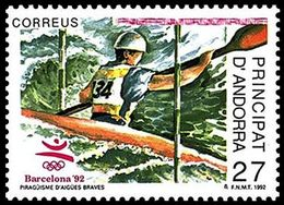 ** Andorra - Spanish - 1992 - Olympic Games 1992 - Mi. 228 - Ete 1992: Barcelone