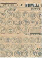 19246 - Pièces A Refuser, A Accepter Fin  XIXe Siècle - Monedas & Billetes