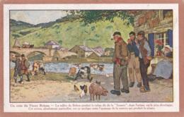Carte Publicitaire De Bohan R.Denoncin Junior Circulée En 1930 Cachet De Namur Rectangulaire - Vresse-sur-Semois