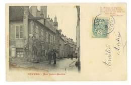 CPA 58 NEVERS RUE SAINT-MARTIN - Nevers