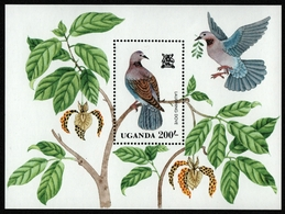 Uganda 1982 - Mi-Nr. Block 35 ** - MNH - Vögel / Birds - Uganda (1962-...)