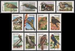 Grenada 1989 - Mi-Nr. 1985-1996 ** - MNH - Vögel / Birds - Grenada (1974-...)